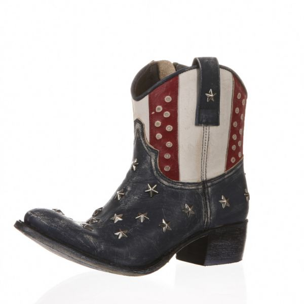 Cowboy Stiefel Sara Raspado Stars & Stripes